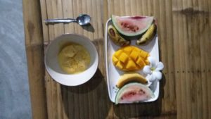 Fruit & Ice Cream